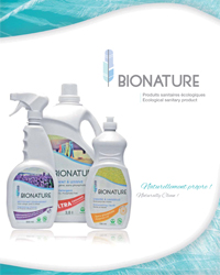 BIONATURE Catalogue de produit 2017