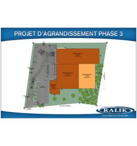 Investissement majeur pour l'agrandissement du siège social de Blainville en 2016