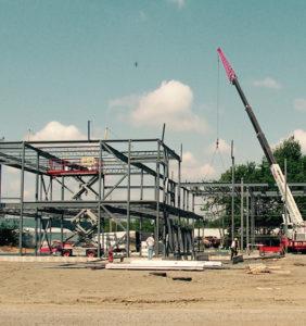 Construction de notre bâtiment de 23 000 pc à Blainville