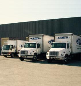 Camions de Les Emballages Ralik en 2002