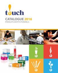TOUCH Catalogue de produits institutionnels 2016