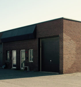 Ralik Packaging's first commercial space in Laval in 1998.