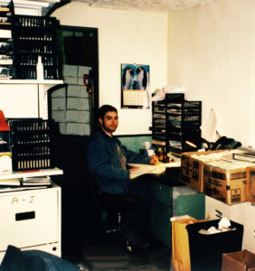 Ralik Packaging's first offices in Laval in 1998.
